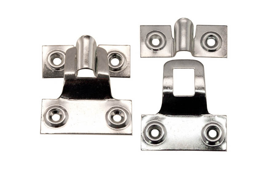 Storm Window & Screen Hangers ~ Anti-Corrosive Zinc-Plated Steel