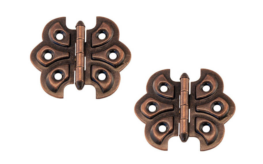 Embossed Ornamental Cabinet Hinges