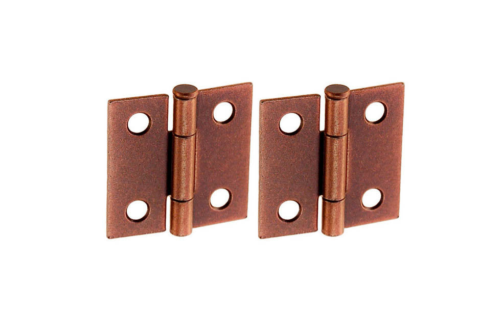 Small Steel Cabinet Butt Hinge ~ 1-1/2