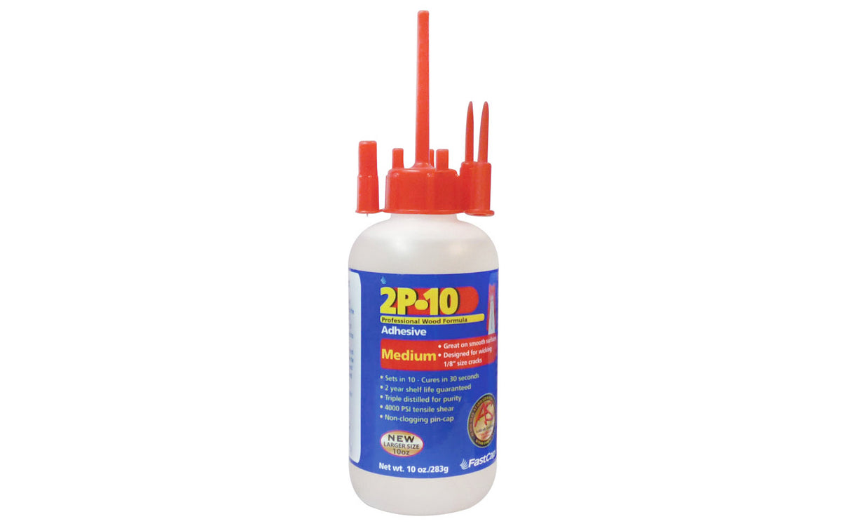 FastCap 2P-10 Adhesive Glue ~ Medium - 10 oz
