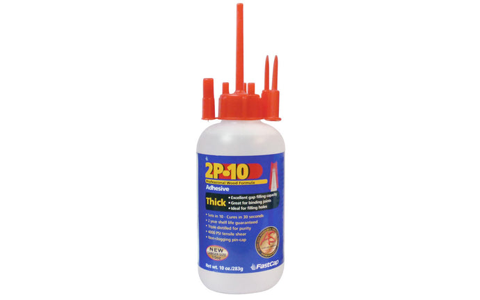 FastCap 2P-10 Adhesive Glue ~ Thick - 10 oz