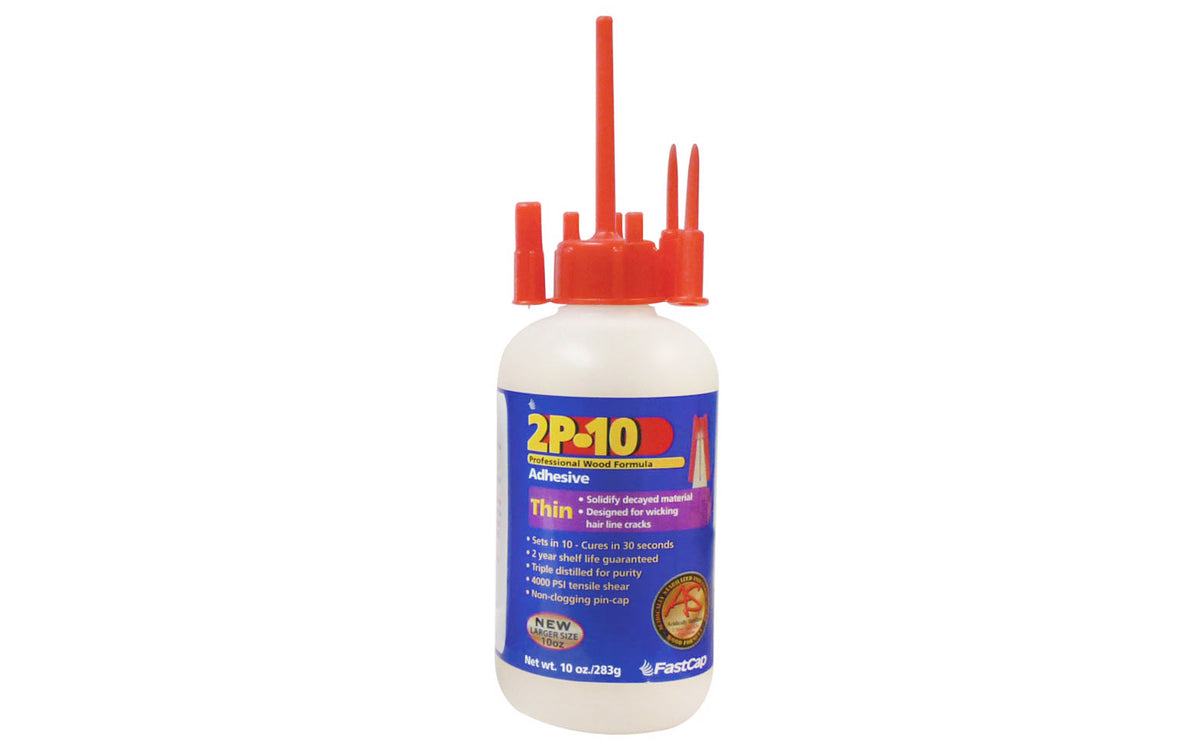 FastCap 2P-10 Adhesive Glue ~ Thin - 10 oz