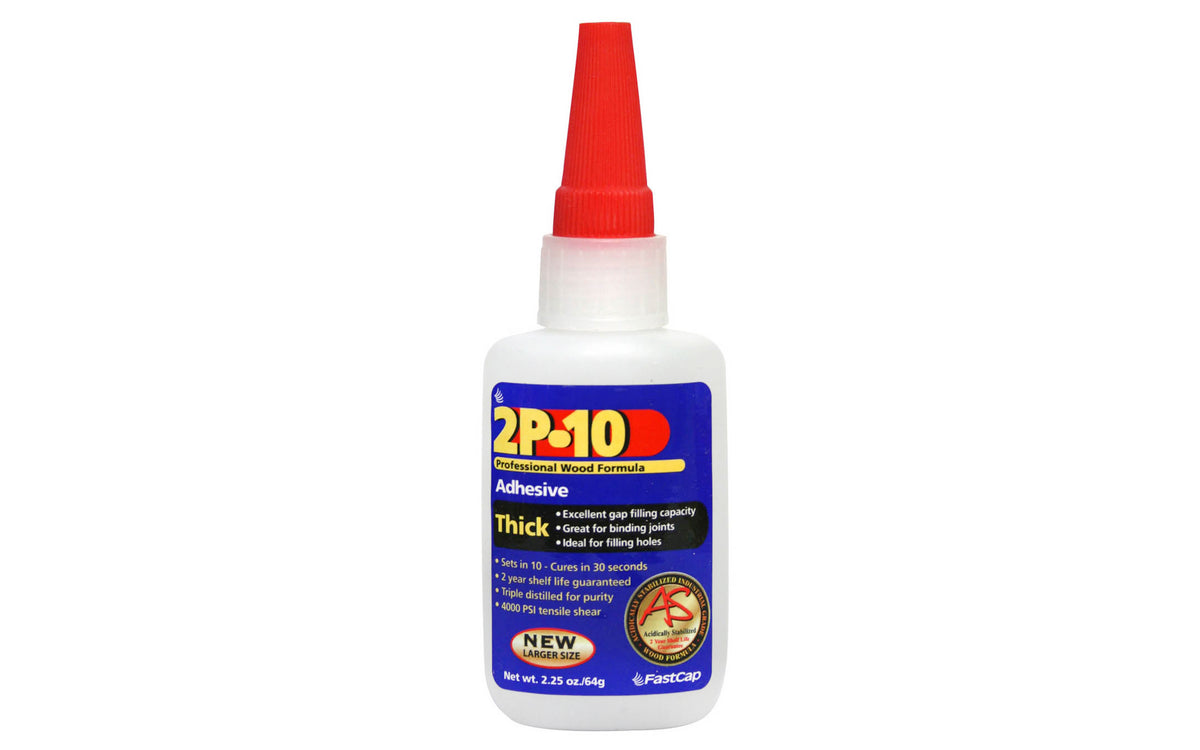 FastCap 2P-10 Adhesive Glue ~ Thick - 2.25 oz