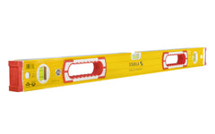 "Stabila 32"" (81 cm) Heavy Duty Level ~ Type 196-2 - No. 37432 ~ Made in Germany - This level in particularly is useful for building installation & for contractors, since it's 32"" size fits door headers, window sills, & thresholds"