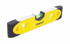 "Stanley 9"" Magnetic Torpedo Level - V-Groove ~ Model No. 43-511"