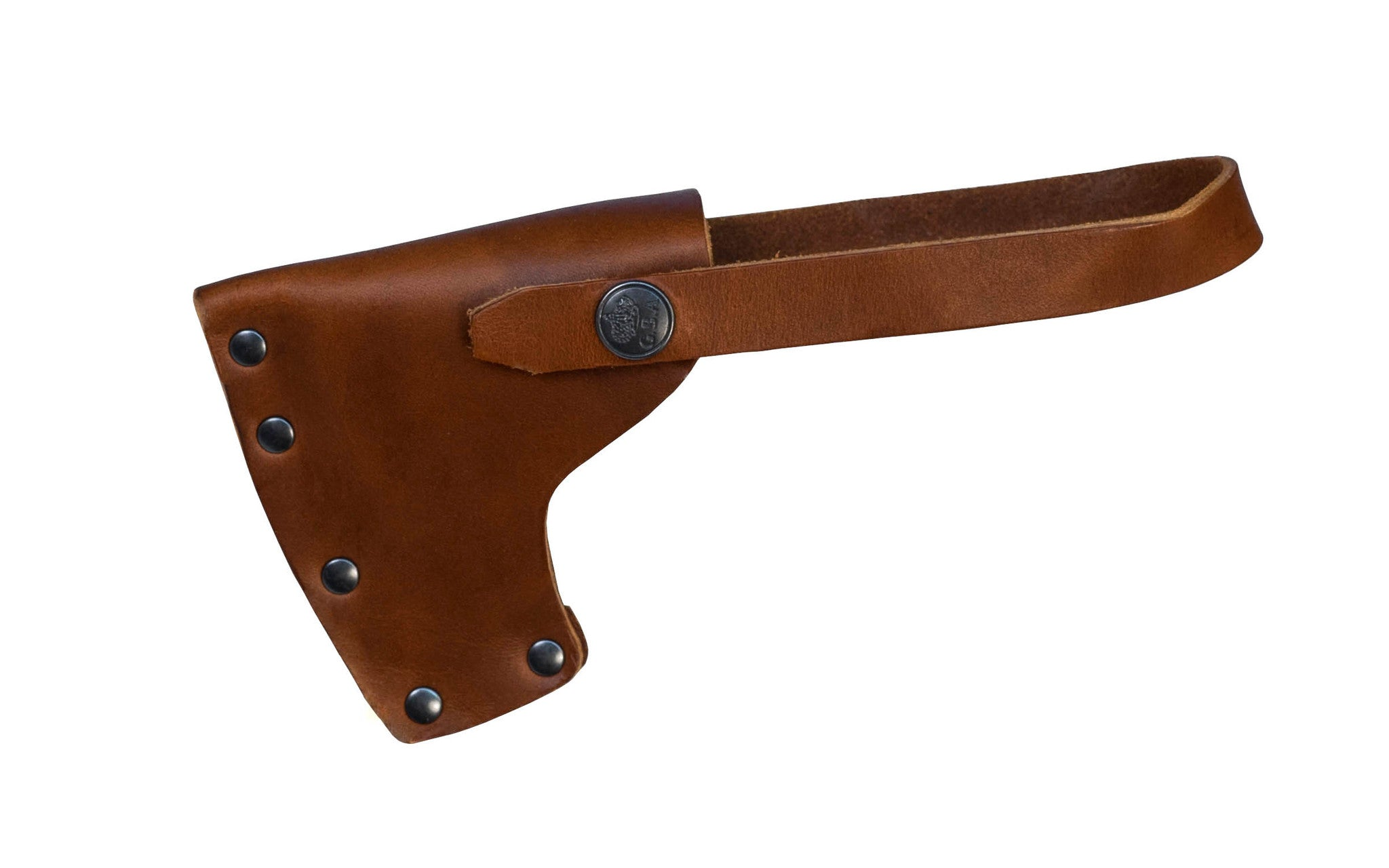 Leather Sheath for Gransfors Bruk Splitting Maul with Collar Guard No. 450 ~ Made in Sweden