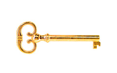"Skeleton Key ~ 1/4"" x 1/4"" Bit ~ Brass Finish"