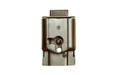 "Mini Full-Mortise Cabinet & Drawer Lock ~ 1-1/2"" High x 1"" Wide"