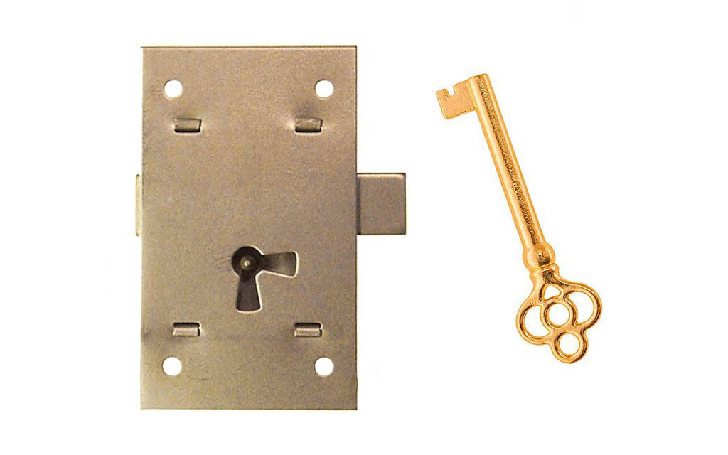 Surface Cabinet Lock ~ Large Size