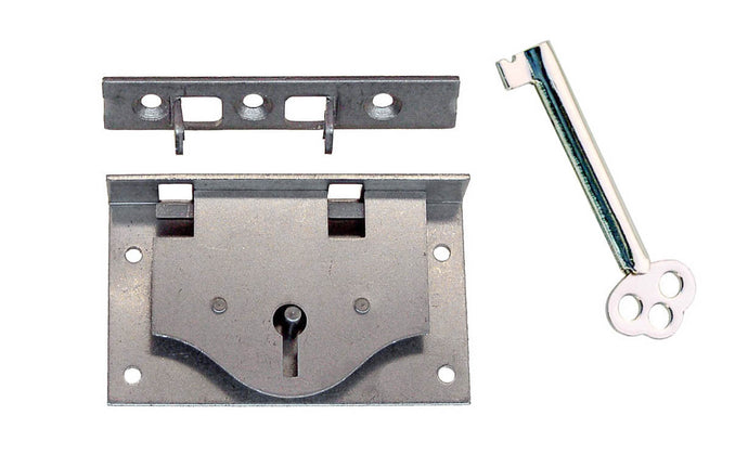 Half-Mortise Lock for Chests, Boxes, & Drawers