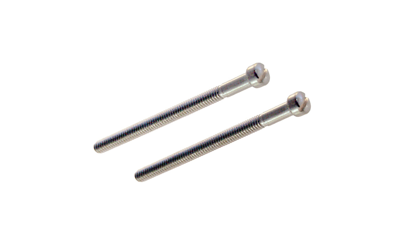 Pair of Replacement Screws For Mortise Locks For Entrance Doors