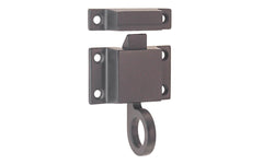 "Solid Brass Transom Window Latch ~ 1-7/8"" x 1-1/8"" ~ Oil Rubbed Bronze Finish"