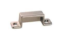 Solid Brass Box Strike ~ Brushed Nickel Finish