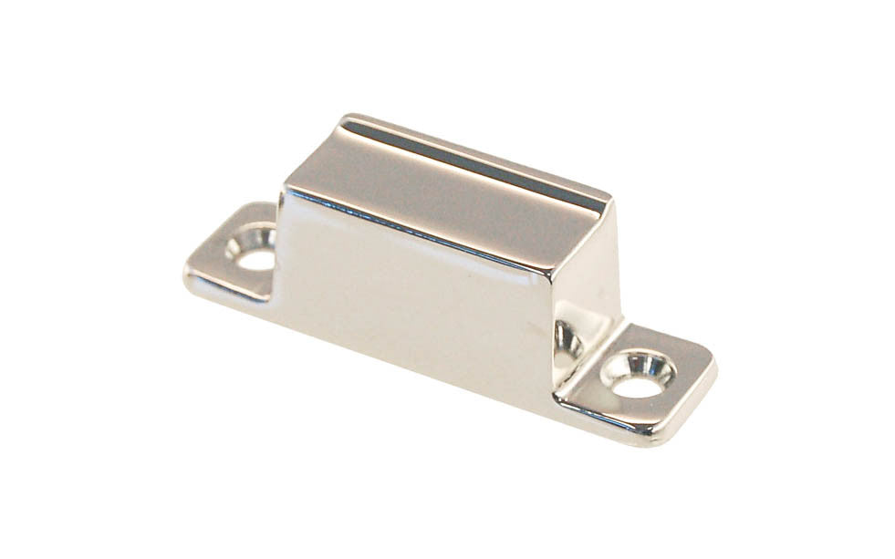 Solid Brass Box Strike ~ Polished Nickel Finish