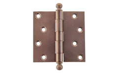 "Classic Ball-Tip Door Hinges ~ 4"" x 4"""