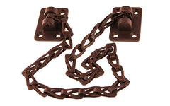"Solid Brass Transom Chain ~ 15"" Chain Length ~ Oil Rubbed Bronze Finish"