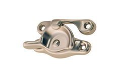 Traditional Solid Brass Sash Lock ~ Brushed Nickel Finish