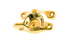 Traditional Solid Brass Sash Lock ~ Lacquered Brass Finish