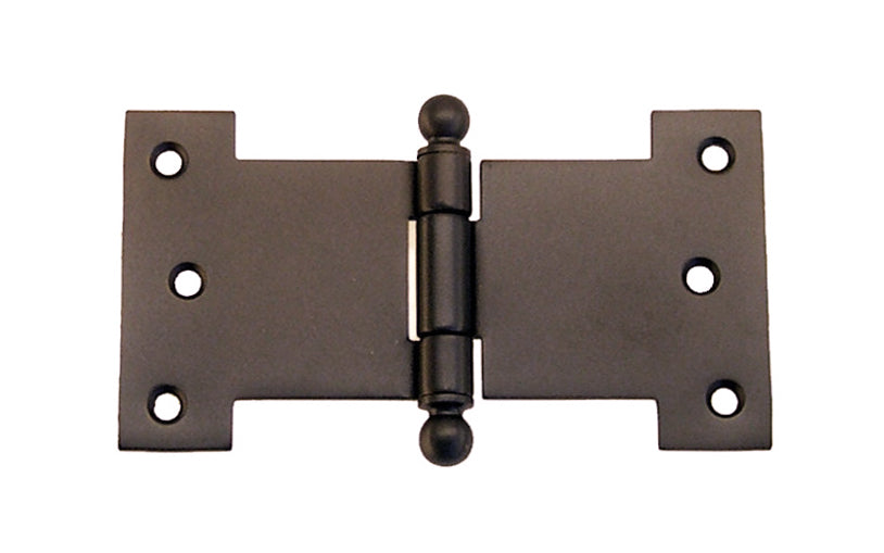 Solid Brass Ball-Tip Parliament Hinge ~ 4-1/2