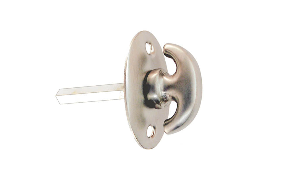 Classic Solid Brass Thumb Turn ~ Brushed Nickel Finish