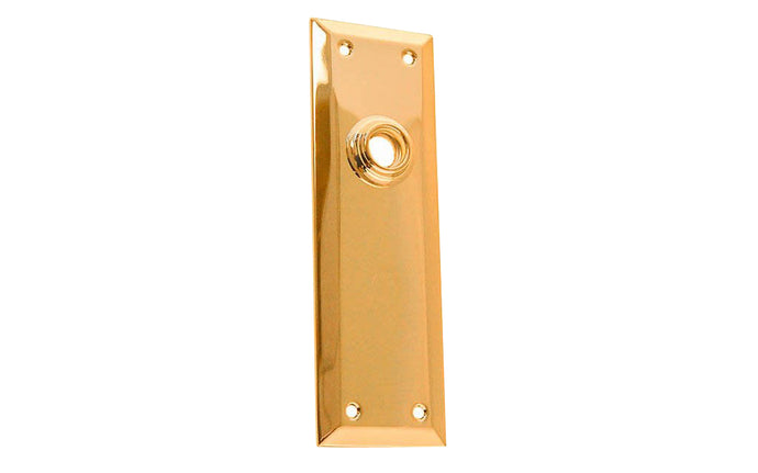 Brass Escutcheon Door Plate