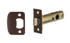"Classic Spring Latch for Doors ~ 2-3/8"" Backset ~ Oil Rubbed Bronze Finish"