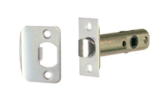 "Classic Spring Latch for Doors ~ 2-3/8"" Backset ~ Polished Nickel Finish"