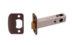 "Spring Latch for Doors ~ 3/4"" Backset ~ Oil Rubbed Bronze Finish"