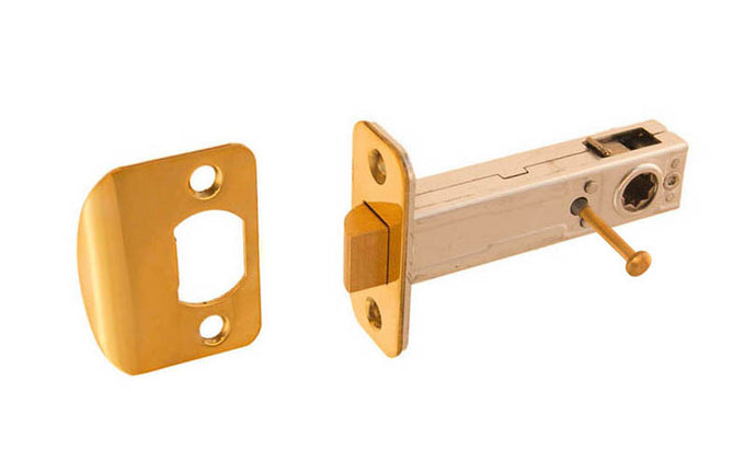 Spring Latch for Doors with Locking Pin ~ 2-3/4