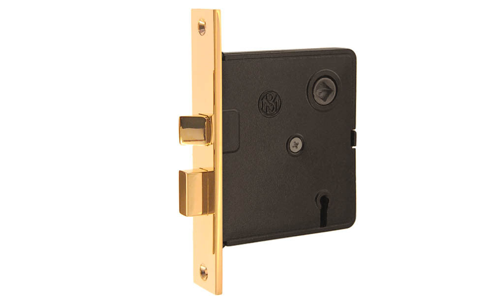Classic Brass Interior Mortise Lock Hardwick Sons