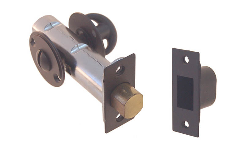 Thumb Turn Deadbolt for Doors With Emergency Slot ~ Oil Rubbed Bronze Finish