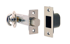 Thumb Turn Deadbolt for Doors ~ Polished Nickel Finish