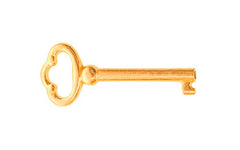 "Skeleton Key ~ 3/16"" x 3/16"" Bit ~ Brass Finish"