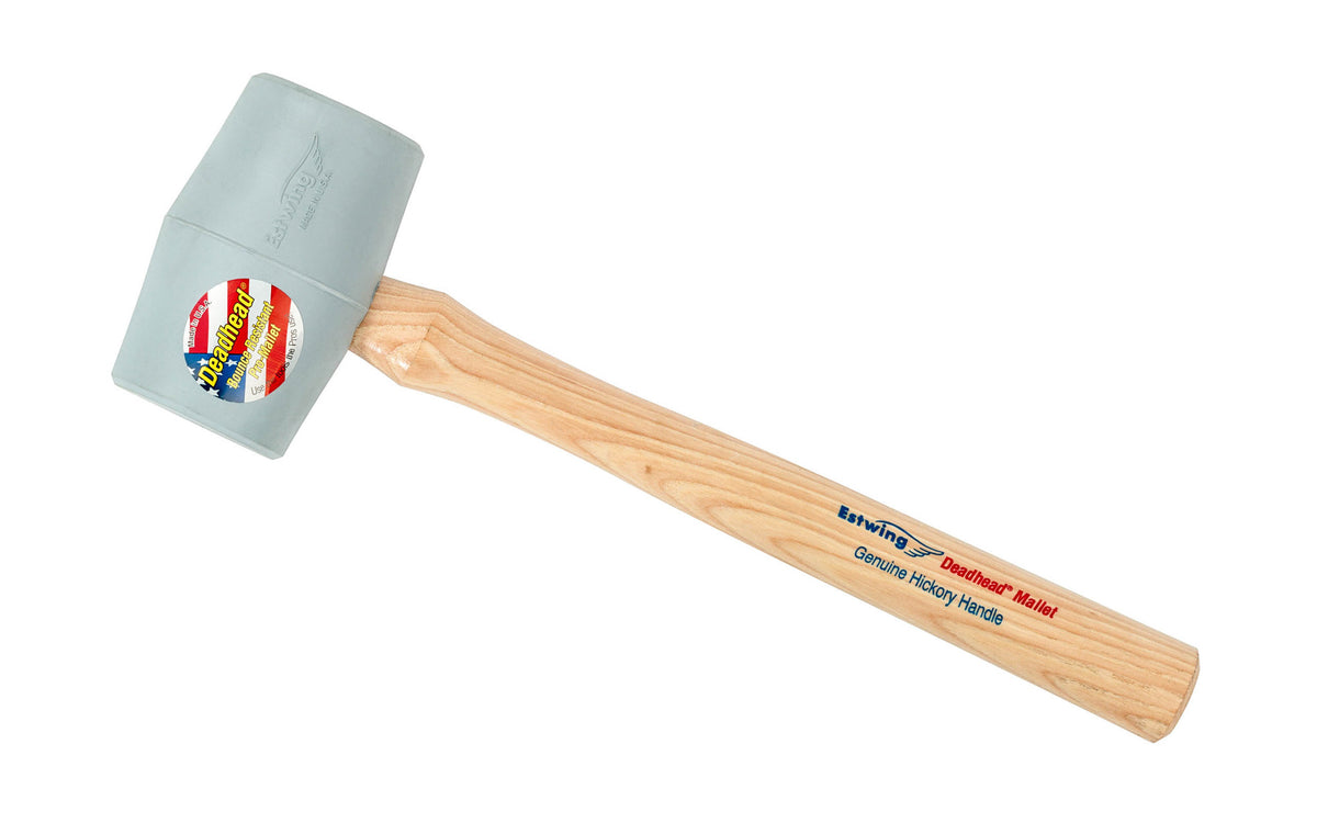 Estwing White Rubber Mallet ~ Made in the USA