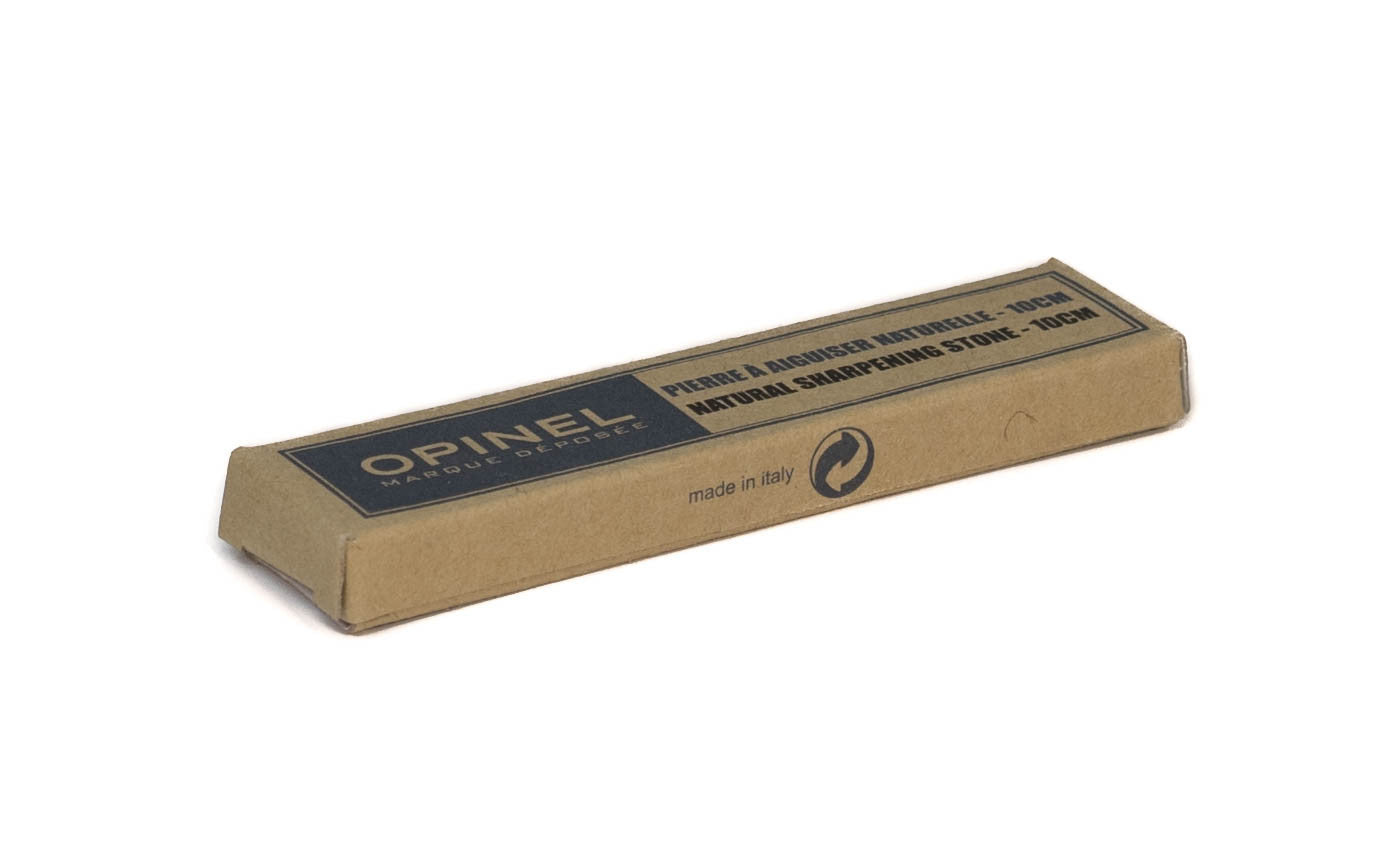 Opinel Natural Lombard Sharpening Stone ~ Cardboard Gift Box