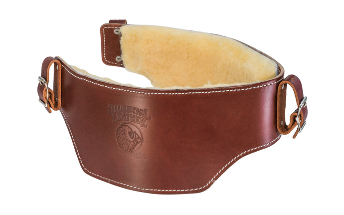 Occidental Leather's Belt Liner with Sheepskin relieves you from cutting edges & circulation problems associated with safety & tool belts. Sheepskin pads provide maximum comfort & is a natural insulator, warm & comfortable in winter, & cool in summer. Comfortable when using with tool belts. Model 5005 XL - Extra Large - 759244004809