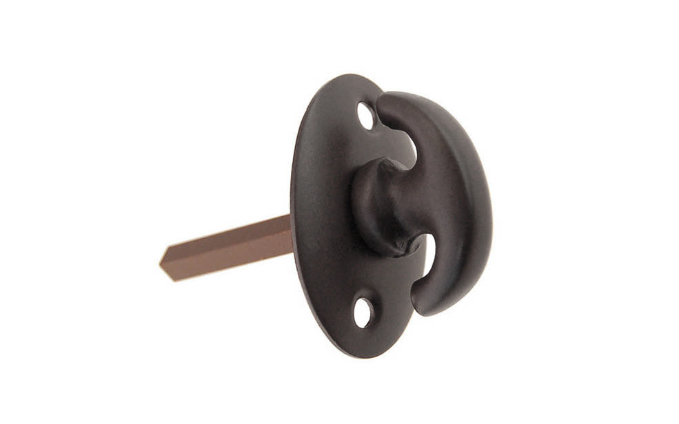 Oil Rubbed Bronze Finish Thumbturn Piece
