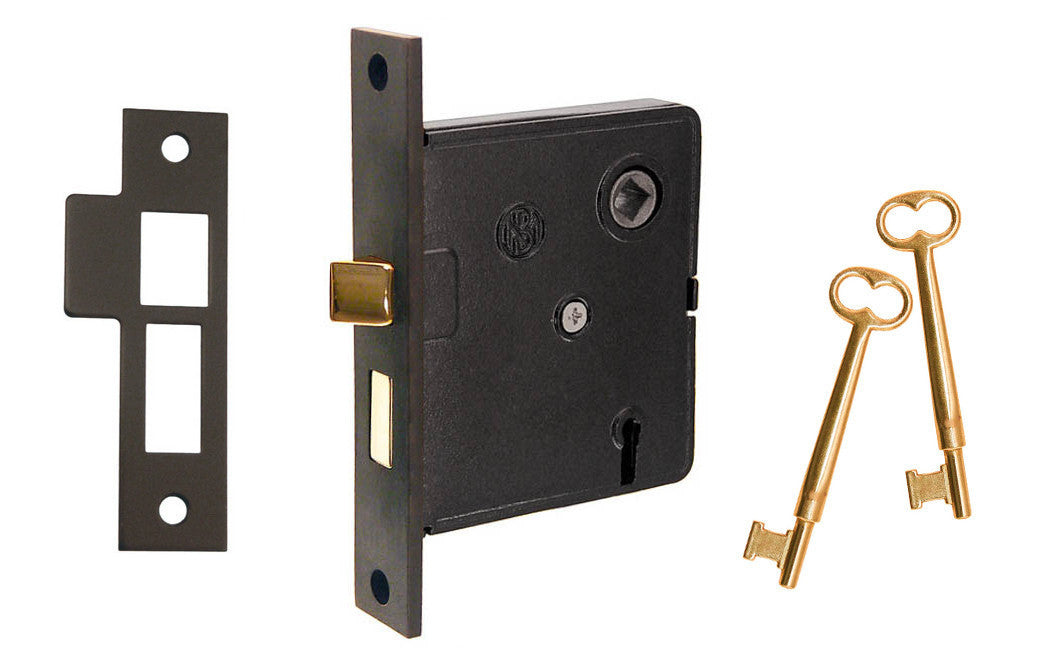 Classic Interior Mortise Lock Set ~ 2-1/2