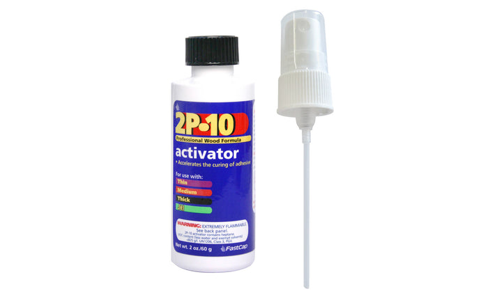 FastCap 2P-10 Activator - 2 oz ~ Made in USA
