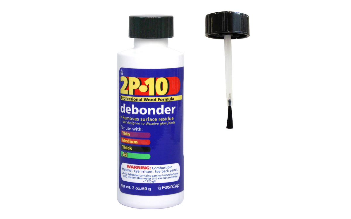 FastCap 2P-10 Debonder - 2 oz ~ Made in USA