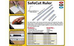 "FastCap SafeCut Ruler - 48"" Long ~ Made in USA"