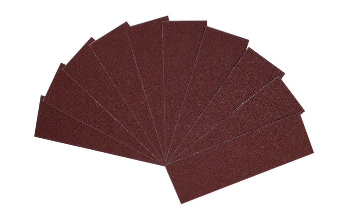 FastCap Fastbreak Sandpaper for Dual Edge Sander - Model No. FB.80GRIT.10PC