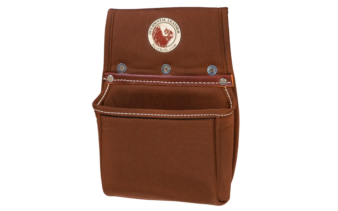 Occidental Leather Rafter Square Pouch ~ 8383 - This is a versatile bag with a sleeve holder for the rafter square that allows easy access with either hand. Plus capacity for tools & fasteners. Ideal for that third bag. Accepts a 3