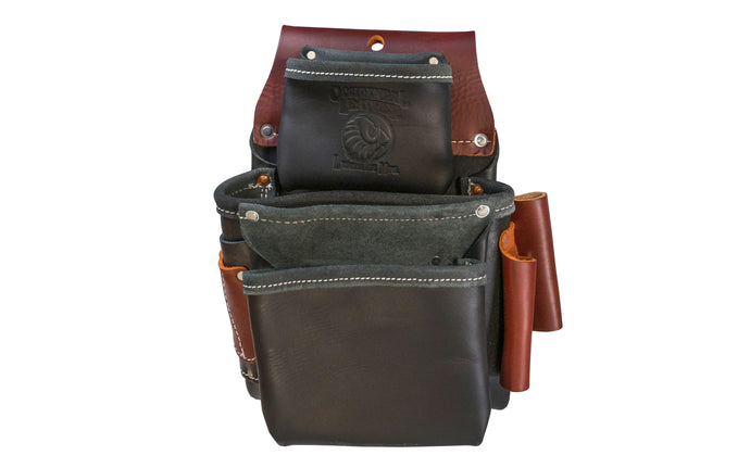 Occidental Leather Black Color 3-Pouch