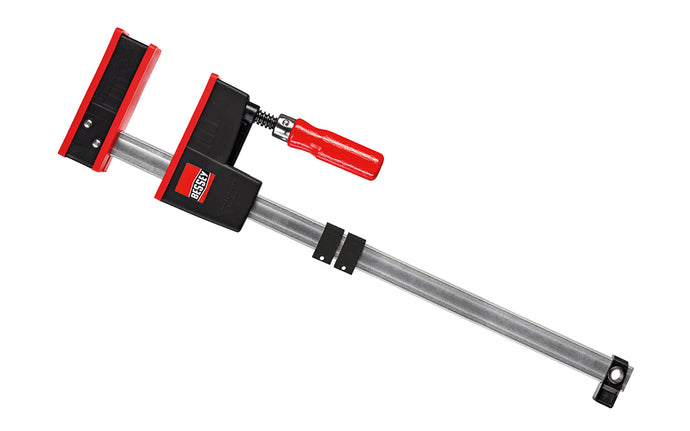 Bessey Parallel K-Body REVO JR Bar Clamps have 90 degree jaws that make cabinet work, frame ups, drawers & any other right-angle glue-up a much easier task. 18