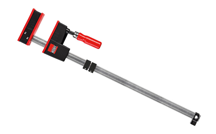 Bessey Parallel K-Body REVO JR Bar Clamps have 90 degree jaws that make cabinet work, frame ups, drawers & any other right-angle glue-up a much easier task. 24