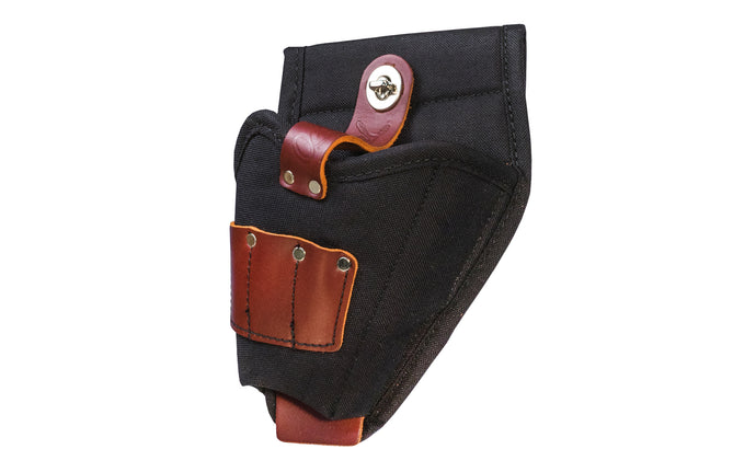 Made in USA - Occidental Leather nylon & leather drill holster holder. Accepts up to 3