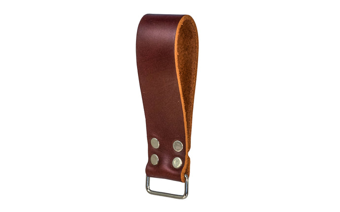Made in USA - Occidental Leather Rectangular Loop that clip on tape measures, clip-on bags, meter cases, etc. Anything with a clip easily attaches. Fits up to a 3