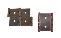 "Double Action Cabinet Hinges for 1-1/4"" Panels ~ 2"" High"