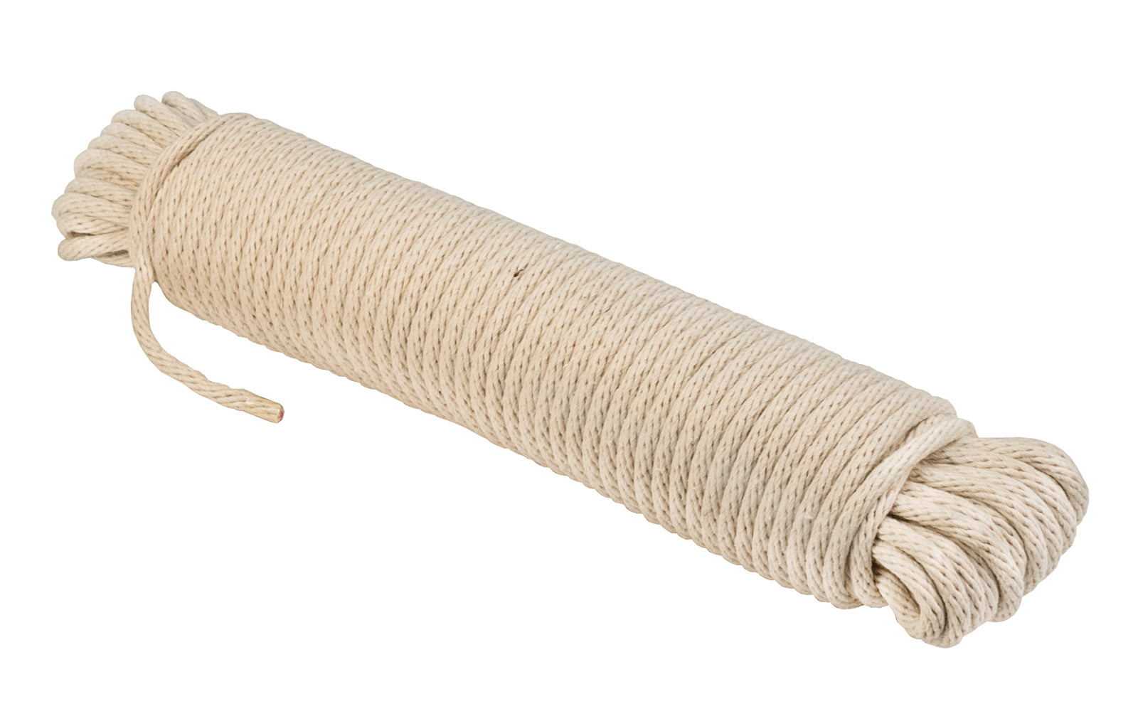 Natural Cotton Braided Sash Cord ~ #8 Size - 1/4
